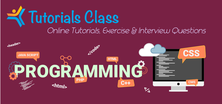 Tutorials Class - Online Tutorials for PHP, HTML, CSS, SEO, C & C++