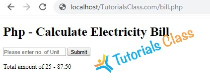 calculate-electricity-bill-in-php
