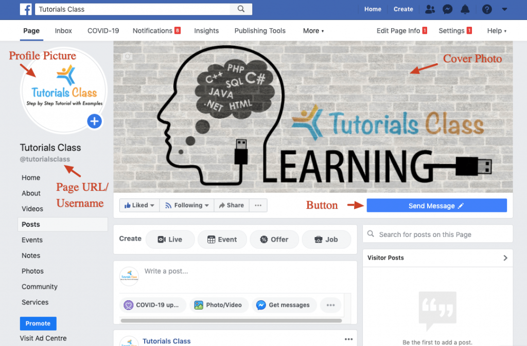 Facebook Page Creation - Tutorial